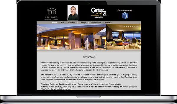 Jeremy Diaz Realtor Website