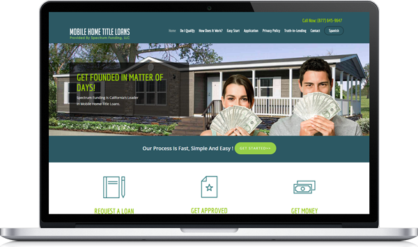 Mobile Home Title Loans New Website