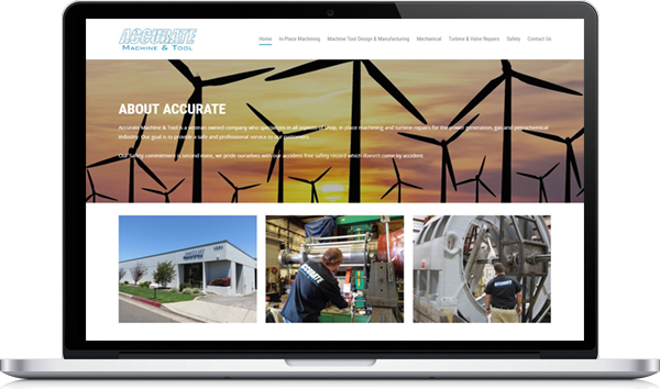 Accurate Machine and Tool Website