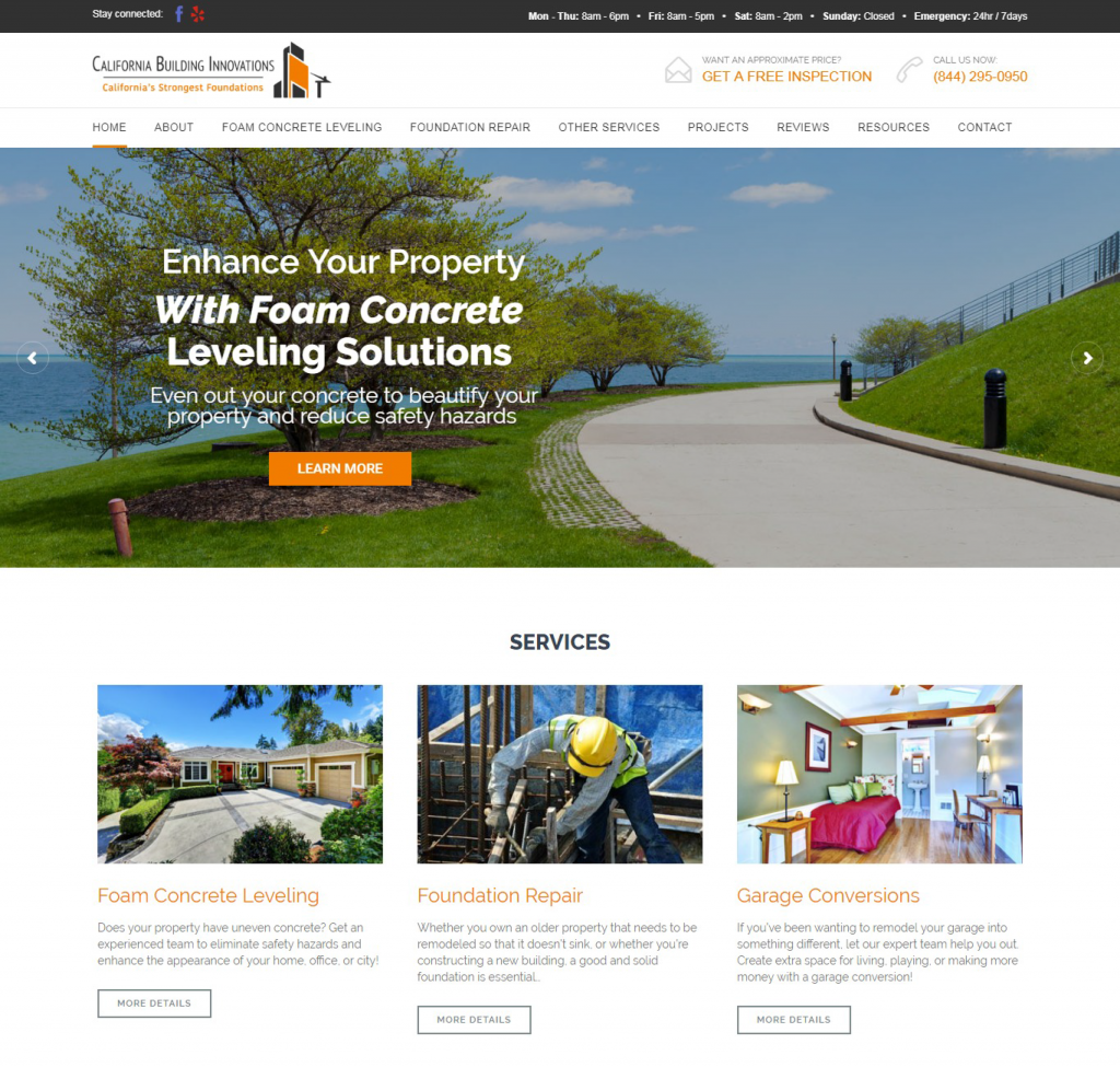 California Building Innovations Website