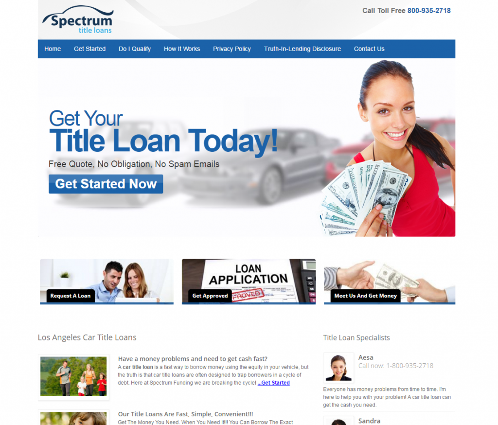 Loan 4 Title Website